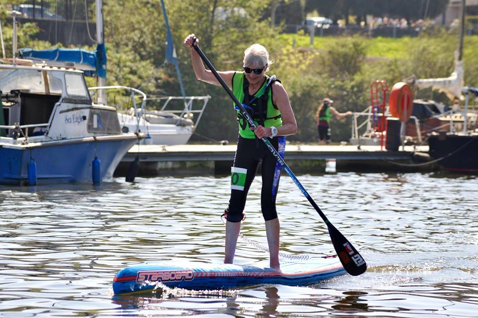 Another milestone on my SUP journey as a new board takes centre stage