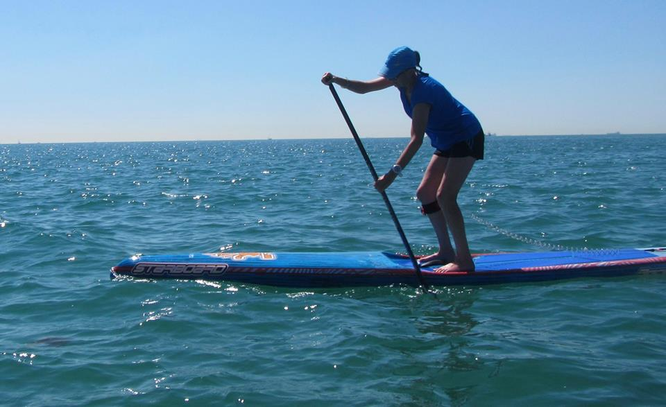 Just change one thing — lessons learned while SUPing at the beach…