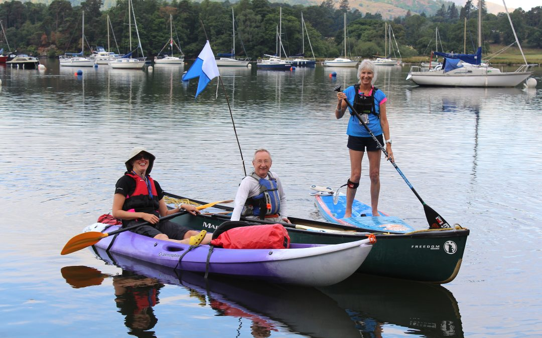 Windermere wow factor… and another SUP shortfall
